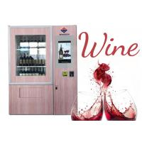 China Wine beer bottle combo Vending Machine with Network LCD Advertising Display on sale