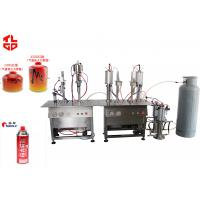 Best Stainless Steel LPG Gas Filling Machine For Cassette Can / Refrigerant Can / Altitude Gas Can wholesale