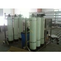 Best 500LPH RO Water Treatment System With Automatic FRP Water Softener CE ISO Approved wholesale
