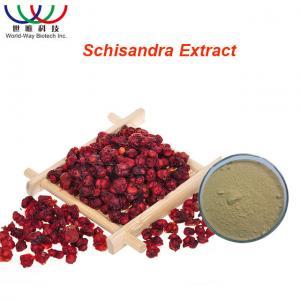 Best Organic Schisandra Chinensis Extract Light Yellow Powder Schisandra Active Ingredients wholesale