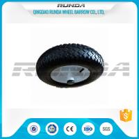 China Diamand Pattern Swivel Caster Pneumatic Wheel 4.00-8 Large Friction Prevent Skid on sale