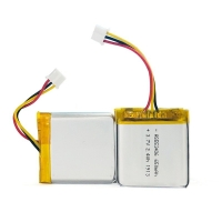 Buy cheap 1C Rate 650mAh 3.7 V Lithium Battery Pack For Portable Source from wholesalers