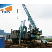 Best T-WORKS 120T Hydraulic Piling Machine for Concrete Spun and Square Pile Without Noise And Vibration wholesale