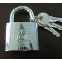 Cheap New Chrome Plated Iron Padlock for sale