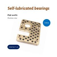 Best Mould & Injection Copper Self Lube Wear Plates With Graphite Inlaid Bronze Bushings Retainers wholesale