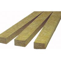 China Mineral Rockwool Fire Insulation , Rockwool Party Wall Batts Fire Seal on sale