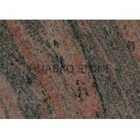 China Muticolor Large Granite Tiles , Kitchen Slab Granite Excellent Longevity Easy Maintain on sale