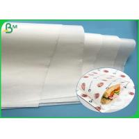 Best Eco - Friendly 36-50gsm Greaseproof Paper Kit3 Kit7 For Sheets To Wrap Food wholesale