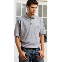 China Men's Cotton Polo T-Shirt on sale
