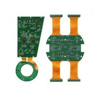 Best Various types Rigid Flex PCB Green Sodermask with quick delivery wholesale