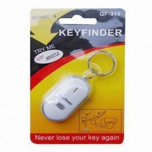 Best LED Light Whistle Key Finder, Made of Plastic, Measures 5.5 x 2.7 x 1.3cm wholesale