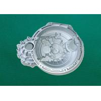 Best Silver Finish Metal Die Casting Motorcycle Parts , CNC Machining Part wholesale