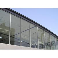 China Curtain Wall Tempered Laminated Safety Glass / Decorative Toughened Glass on sale