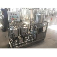 China 50L 100L Home Brewing Equipment With All Microbrewery System Functions on sale
