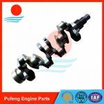 Best Kubota engine spare parts V3800 crankshaft, good review from North America market wholesale