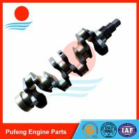 Best Kubota engine spare parts V3800 crankshaft, good review from North America market wholesale