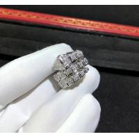 Best Magnificent 18K Gold Diamond Ring , Personalized Bulgari Snake Ring AN855116 wholesale