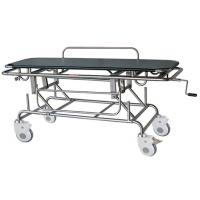 Best Manual Patient Transport Stretcher Cart Height Adjustment With IV Pole wholesale