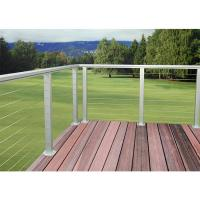 China cheap wire mesh deck railing/aluminium balustrade for balcony on sale