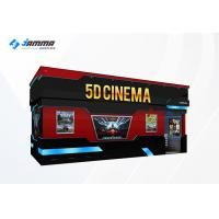 Best Optional Seats 5D Movie Theater Luxury Motion Chairs Flat Screen Dual Core Computer wholesale