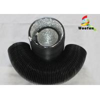 Best Stretchable Round 6 Inch Flexible Duct PVC Aluminum Foil With Single Layer wholesale