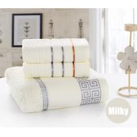 China 3Pcs Towel set Cotton Beach Bath Face Towel Set for both Adults and Baby Bath Towel Set on sale