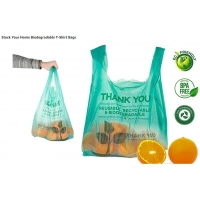 China Biodegradable Plastic Bags, eco friendly bags, Waste disposal bags, Grocery recycle bags on sale