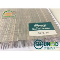 Best Horse Tail Woven Interlining Fabric For Uniform And Business Casual Suits wholesale
