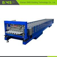 Best Stable Corrugated Roof Sheet Making Machine , Roof Panel Roll Forming Machine wholesale