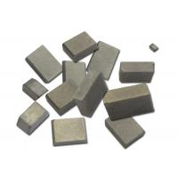Best Customized Tungsten Carbide Saw Tips For Cutting Stone 92.3HRA Hardness wholesale