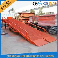 China Heavy Duty Container Loading Ramps / Unloading Ramps with 6T 10T 15T Loading Capacity on sale