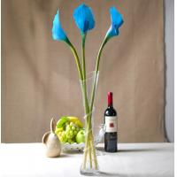 China artificial faux home decor pu material real touch calla lily on sale