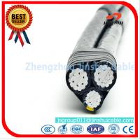 Best ASTM B - 230 Triplex Service Drop Cable XLPE Insulated Aluminum Alloy Conductor Cyclops wholesale
