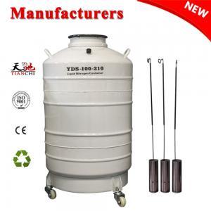 Best TIANCHI Liquid Nitrogen Biological Container 100L Vaccum Tank Price wholesale