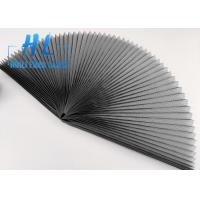 Best 80 Gsm Polyester Pleated Mesh Folding Window Screen For Sliding Window And Doors wholesale