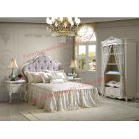 Best Exquisite Design and Workmanship for Lovely Girls Bedroom Furniture set in White Color wholesale
