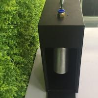 China Black Metal Large Area Scent Diffuser With Timer / Wall Mountable Hvac Scent Diffuser 1000ml on sale