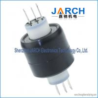 Buy cheap 3 Pole 30A HF signal miniature Mercury Slip Ring A3H ethernet slip ring from wholesalers