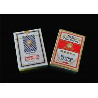 Best Custom Print Poker Playing Cards , Classic Animated Poker Card Sets wholesale