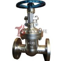 Best Manual Operated Pn16 Bolted Bonnet Gate Valve Backseat Design RF / BW wholesale