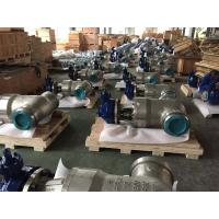 China PSB 2500lb API 600 Gate Valve , Pressure Seal Bonnet 10 Inch Gate Valve CF8C Body on sale