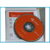 China Microsoft Office 2016 standard DVD retail pack Window Operating System with DVD program on sale