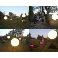 Dimmable Event Balloon Light 800w , LED Balloon Lights Decoration Branding Options 1.6m/5.2ft Tripod Mount