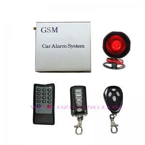 China GSM car alarm system on sale