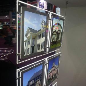 China factory price high bright crystal led light box/ advertising led light box/ super slim led light box on sale