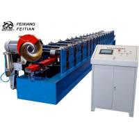 China High Speed Downspout Roll Forming Machine PLC Control Half Round Gutter Machine on sale