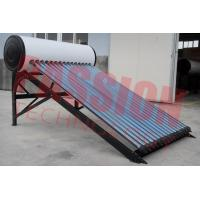 Best Professional Heat Pipe Solar Water Heater With 20 Tubes Aluminum Reflector Frame wholesale
