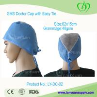 Best Disposable SPP Doctor Cap with Easy Ties wholesale