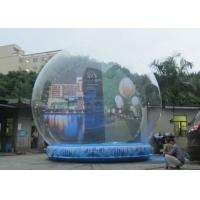 Buy cheap 3m - 5m Diameter Inflatable Christmas Snow Globe Outdoors Environmental Friendly from wholesalers