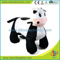 Best Sibo Best Selling Motorized Plush Riding Animals Battery Operated Ride Animals wholesale